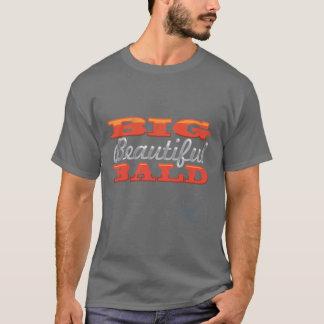"""Big Beautiful Bald"" Basic Dark T-Shirt"