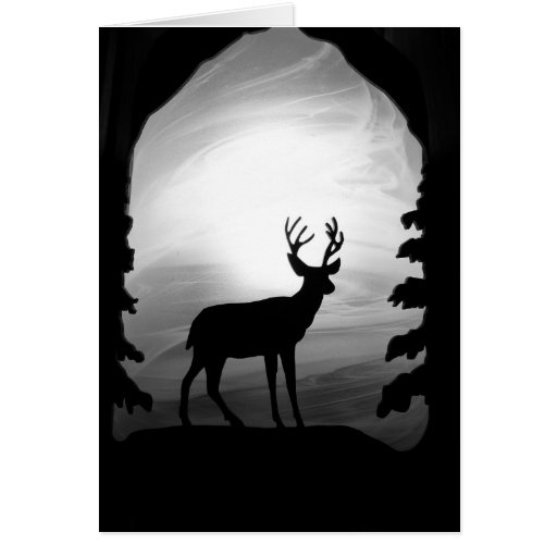 Big Beautiful Buck Greeting Cards