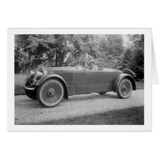 Big Beautiful Car, early 1900s Card