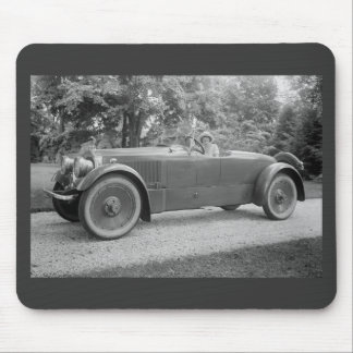 Big Beautiful Car, early 1900s Mouse Pad