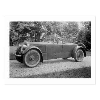 Big Beautiful Car, early 1900s Postcard