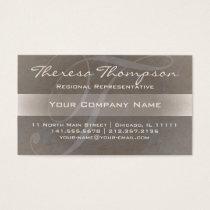 Big Beautiful Monogram T Elegant Name Cards