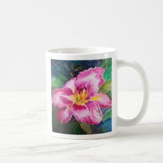 Big Beautiful Purplish Pink Flower Mug