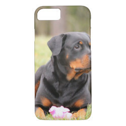 Big Beautiful Rottweiler iPhone 8/7 Case