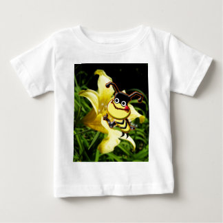 Big Bee Likes Pollen toddler shirt