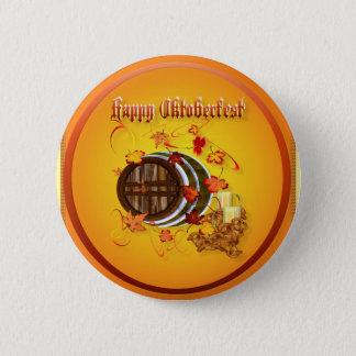 Big Beer-Happy Oktoberfest Buttons