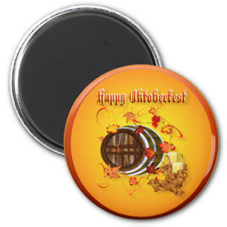 Big Beer-Happy Oktoberfest Magnets
