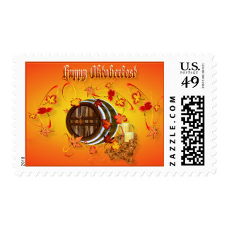 Big Beer-Happy Oktoberfest Postage