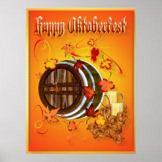 Big Beer-Happy Oktoberfest Poster