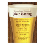 "Big Beer Tasting Party Invitation 4.5"" X 6.25"" Invitation Card"