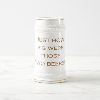 Big Beers Beer Stein