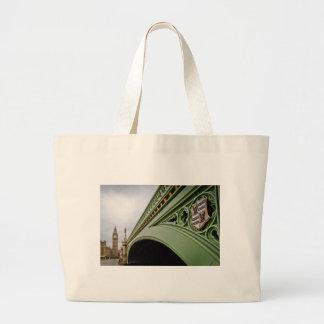 Big Ben 01 Large Tote Bag