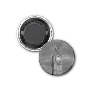 Big Ben 1 Inch Round Magnet