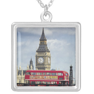 Big Ben 2 Silver Plated Necklace