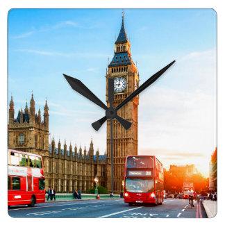 Big Ben 2 Square Wall Clock