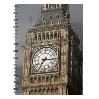 Big Ben 3 Spiral Notebook
