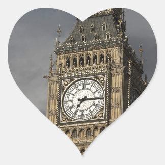 Big Ben 3 Heart Stickers