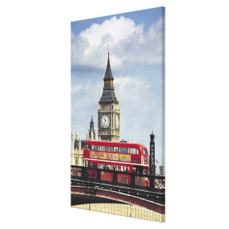 Big Ben 5 Gallery Wrapped Canvas