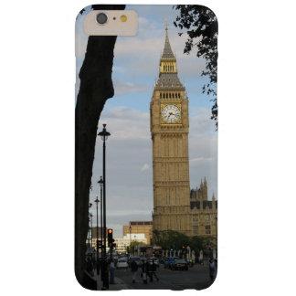 Big Ben a través del árbol Funda De iPhone 6 Plus Barely There