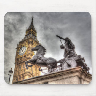 Big Ben and Boadicea Statue Mouse Mat