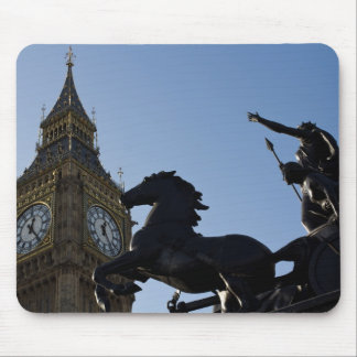 Big Ben and Boadicea Statue Mouse Mats
