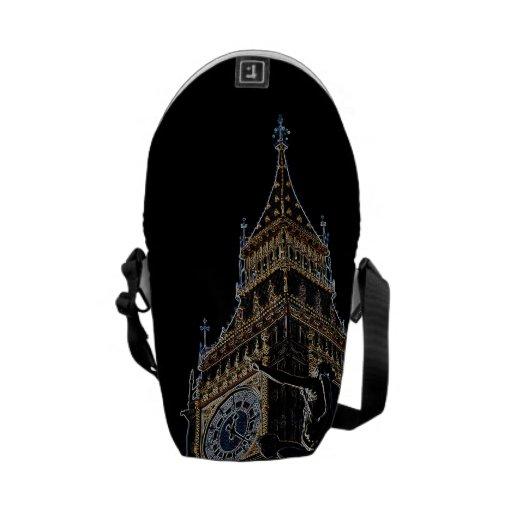 Big Ben and Boudica Statue Commuter Bags