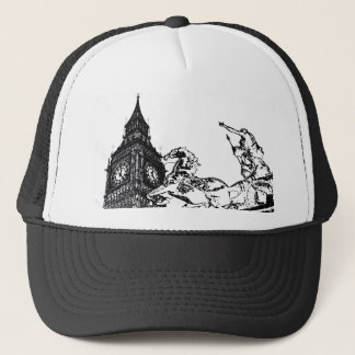 Big Ben and boudica Statue Trucker Hat