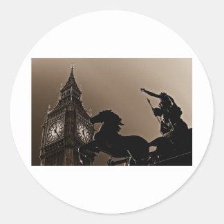 Big Ben and Boudica Stickers