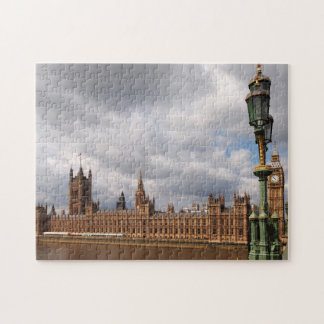 Big Ben and Houses of Parliament in London puzzle