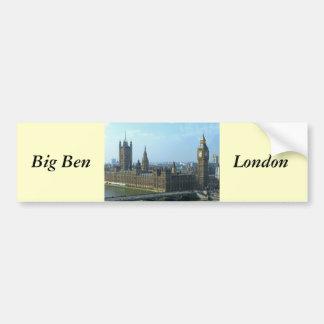 Big Ben and Houses of Parliament - London Bumper Sticker