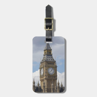 Big Ben and Houses of Parliament, London, Bag Tag