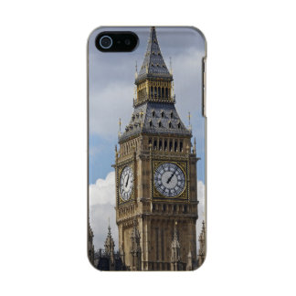 Big Ben and Houses of Parliament, London, Metallic iPhone SE/5/5s Case