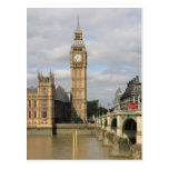 Big Ben and Houses of Parliament - London Post Cards