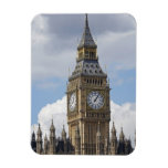 Big Ben and Houses of Parliament, London, Flexible Magnet