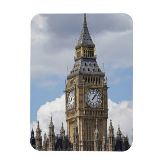 Big Ben and Houses of Parliament, London, Rectangular Photo Magnet
