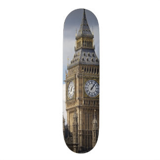 Big Ben and Houses of Parliament, London, Skateboard Deck