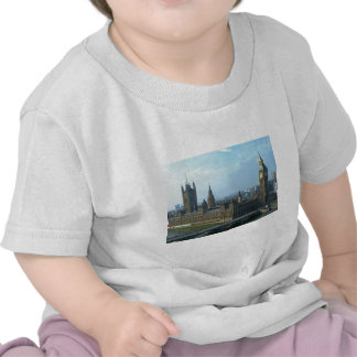 Big Ben and Houses of Parliament - London T Shirts