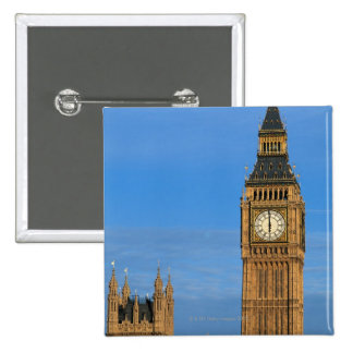 Big Ben and Parliament Building Button
