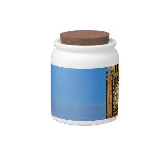 Big Ben and Parliament Building Candy Jars