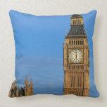 Big Ben and Parliament Building Pillow