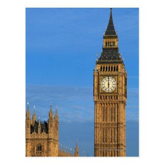Big Ben and Parliament Building Postcard