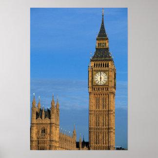 Big Ben and Parliament Building Poster