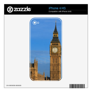 Big Ben and Parliament Building Skins For iPhone 4