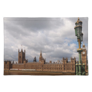 Big Ben and Parliament in London placemat