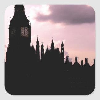 Big Ben and Parliament Square Sticker