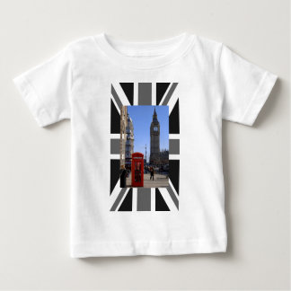 Big Ben and Red Telephone box in London Baby T-Shirt