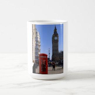 Big Ben and Red Telephone box in London Mug