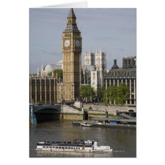 Big Ben and Thames River Card