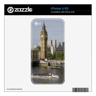Big Ben and Thames River Decals For iPhone 4S