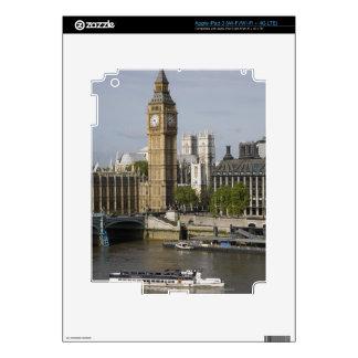 Big Ben and Thames River iPad 3 Decals
